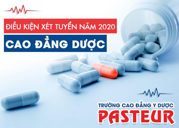 Tuyển sinh Cao đẳng Dược năm 2020