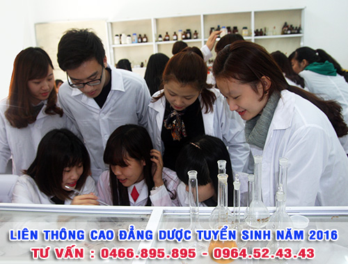 Liên thông Trung cấp lên Cao đẳng Dược