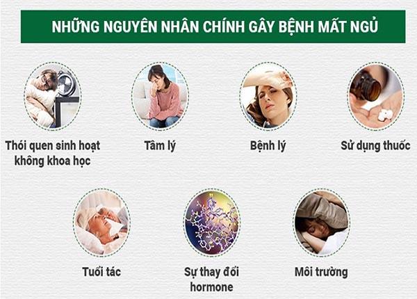 Một số nguyên nhân gây nên tình trạng mất ngủ