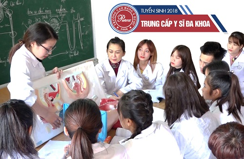 Tuyển sinh Trung cấp Y sĩ đa khoa học tại Hà Nội