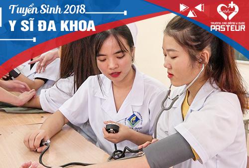 Địa chỉ tuyển sinh Trung cấp Y sĩ đa khoa năm 2018