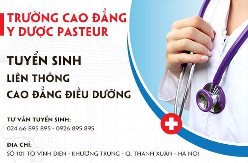 Địa chỉ tuyển sinh liên thông Cao đẳng Điều dưỡng tại Hà Nội