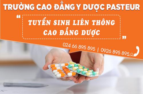 Địa chỉ mua phiếu liên thông Cao đẳng Dược tại Hà Nội