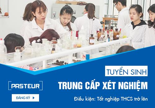 Tuyển sinh Trung cấp Xét nghiệm chỉ cần tốt nghiệp THCS