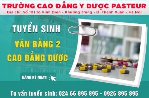 Địa chỉ tuyển sinh Cao đẳng Dược văn bằng 2 tại Hà Nội