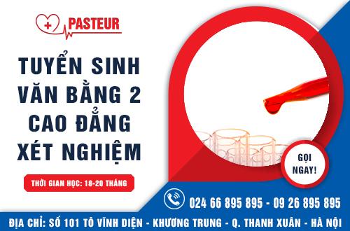 Địa chỉ đào tạo văn bằng 2 Cao đẳng Xét nghiệm tại Hà Nội