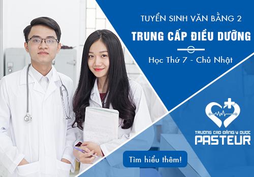 Địa chỉ tuyển sinh văn bằng 2 Trung cấp Điều dưỡng năm 2018