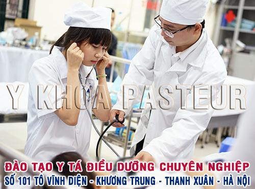 Đào tạo Y tá điều dưỡng chuyên nghiệp
