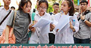 Địa chỉ đăng ký học Trung cấp điều dưỡng đa khoa Hà Nội năm 2017
