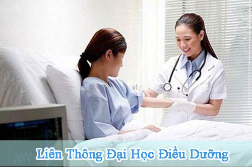 Tuyen sinh Lien thong Tu Trung cap len Cu nhan Dieu duong 2015